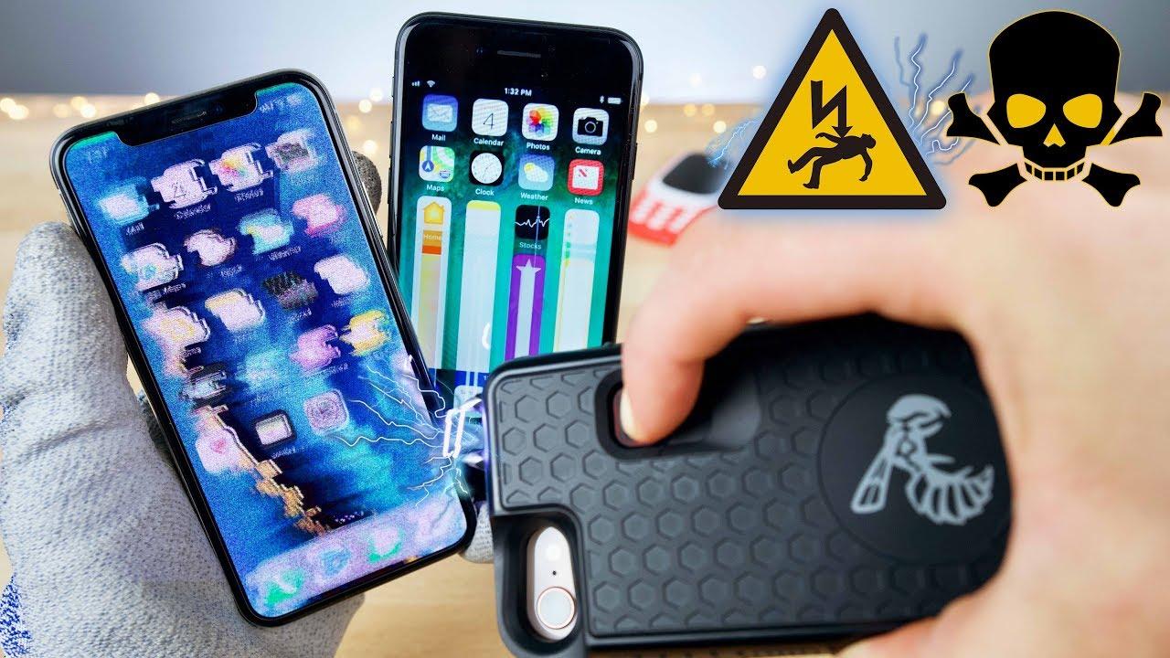 funda iphone taser