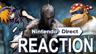 Nintendo Direct Mini 1.11.2018 REACTION! | Dark Souls Remastered, The World Ends With You, and More!