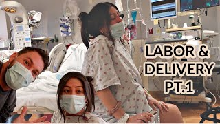 OFFICIAL LABOR AND DELIVERY VLOG *POSITIVE BIRTH EXPERIENCE*