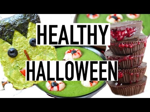 Healthy Halloween Treats! Cooking With Liv Ep.3