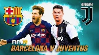 FIFA 19 | บาร์เซโลน่า VS ยูเวนตุส | ดูฟอร์ม เดอ ยอง & เดอ ลิกท์ !! Special Match 2019