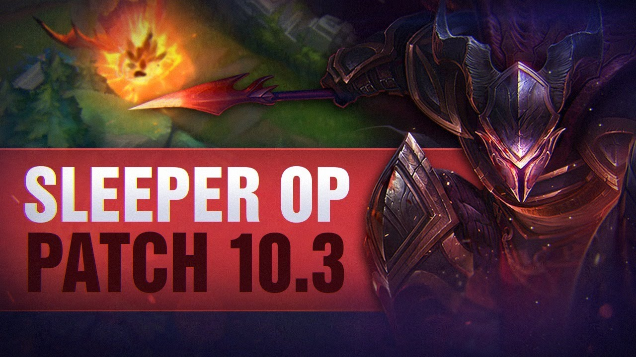14 SLEEPER OP Champions for Solo Queue Patch 10.3 - League of Legends thumbnail