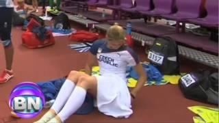 Eliska Klucinova: Deportista Se Cambia Ropa Interior En El Estadio Olímpico De Londres