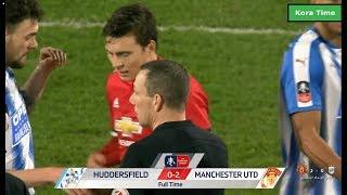 ملخص أهداف مباراة مانشستر يونايتد و هدرسفيلد تاون 2-0 HD - كأس الأتحاد الأنجليزى