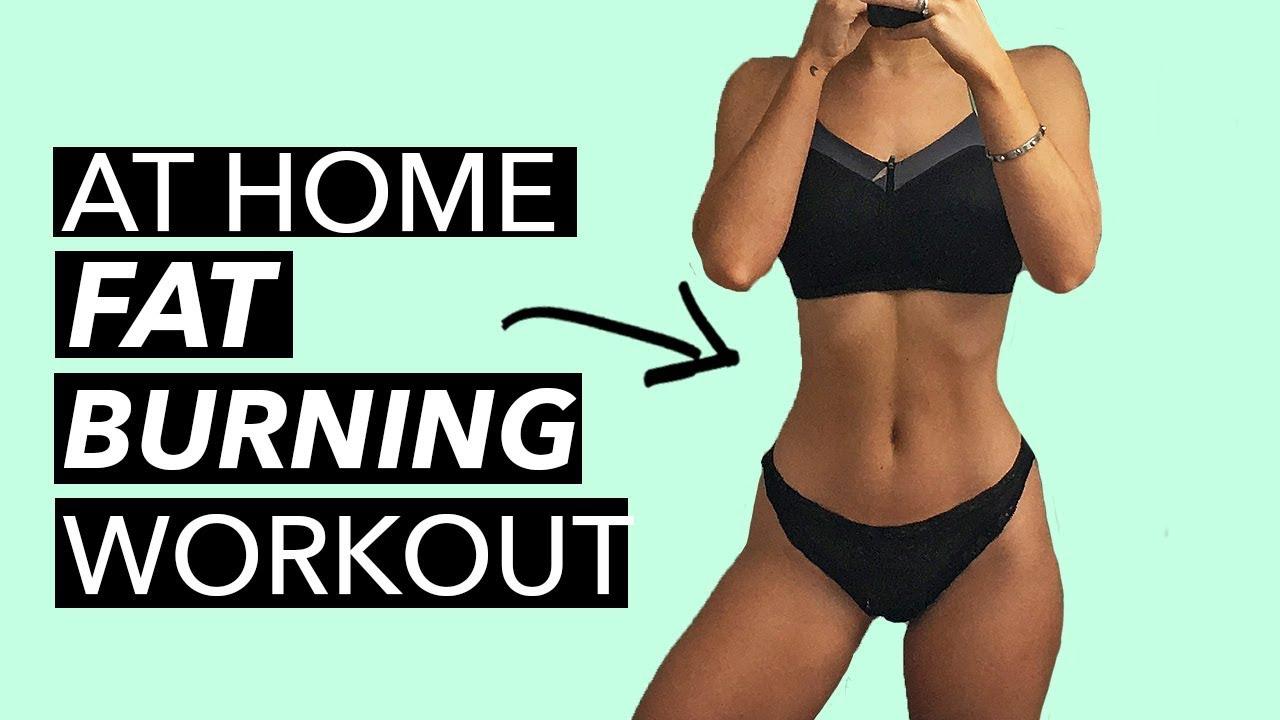 Burn Fat At Home - Cardio Workout (10 MINS)