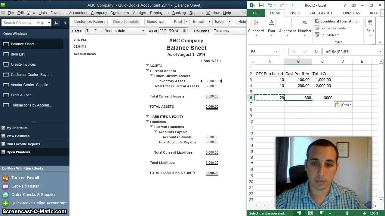 How Is Cost Of Goods Sold Calculated In QuickBooks Desktop Using - Create invoice in quickbooks online thrift store