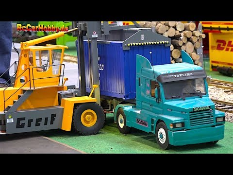 AMZING RC TRUCK ACTION AT MODEL FAIR STUTTGART p7