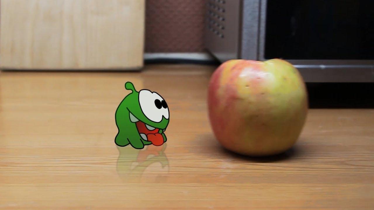 My Om Nom Stories: Apple. Mult-uroki.ru. 2d animation in Anime Studio Pro (Moho Pro)