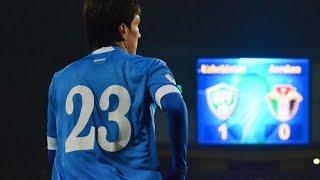 Узбекистан - Иордания 1:0. Гол