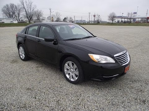2013 chrysler 200 touring sedan black for sale dayton troy piqua sidney ohio 26646 youtube. Black Bedroom Furniture Sets. Home Design Ideas