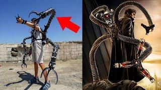19-летний миллионер создал экзоскелет суперзлодея из «Человека паука»