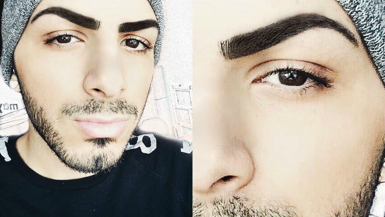 How To Grow Your Eyebrows Over Night | Salih's World - YouTube