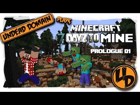 7 DayZ to Mine - Minecraft Let's Play - EP01 - Back to Basics (7 Days to Die, DayZ in Minecraft)