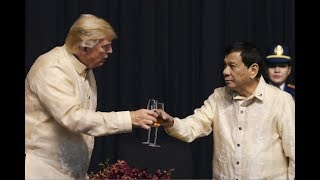 "Duterte sings love song to Trump: ""You are the light"""