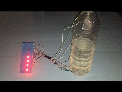 How to make water level indecator , science school  project , cool idea
