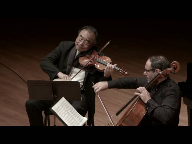 Brahms: Trio in C Major for Piano, Violin, and Cello, Op. 87, III. Scherzo: Presto