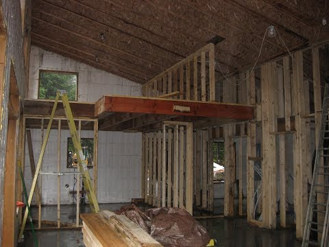 House Building Part 6: Interior Framing Complete