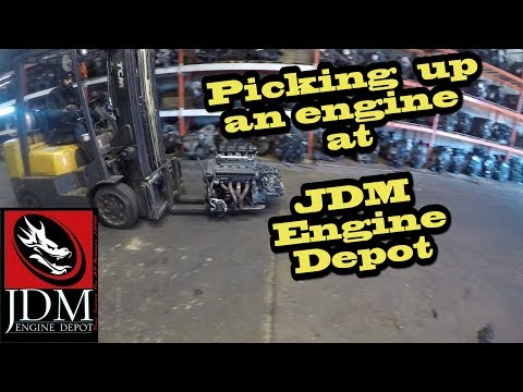 Picking up a 4AGE at JDM Engine Depot!!