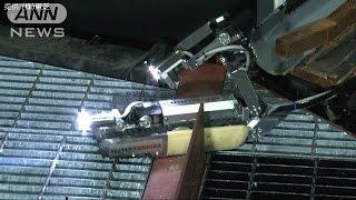 第一原発内部の調査ロボット 炉心部へ進入出来ず(17/02/16)