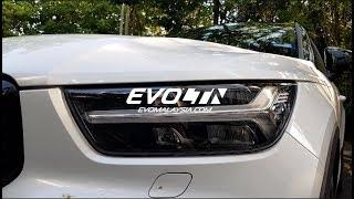 [Cantonese Review 试驾解说] Volvo XC40 好力好劈好轧好靓。好窄?  Evomalaysia.com thumbnail