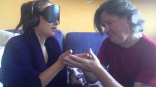 Rosie's Challenges: Deaf, Blind and Silent: talking to Frank, who is deaf-blind FULL REACH