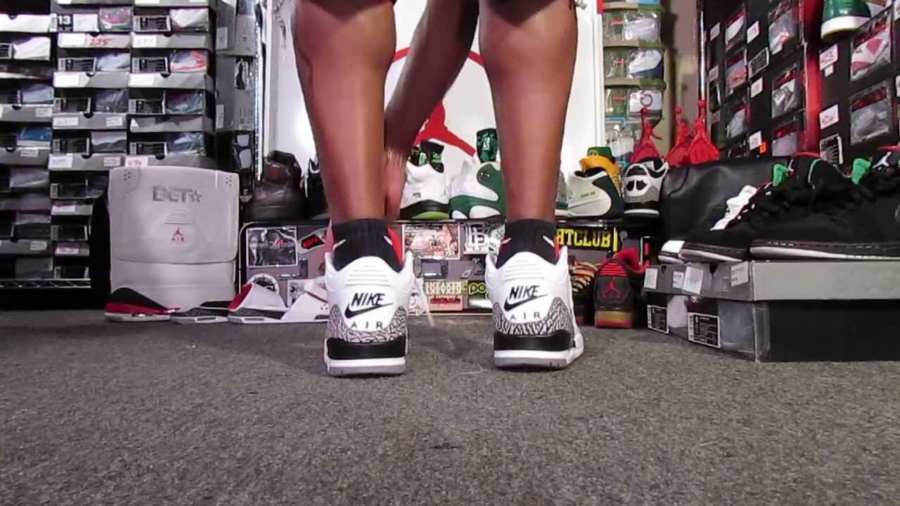 Comment Les Air Jordan 3 En Forme