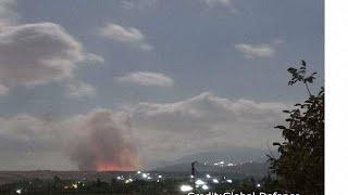 Israeli jets attack Syrian target