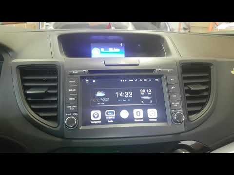Installation Oem Fit Navigation Android System 2012 - 2016 Honda Crv