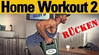 Zuhause trainieren ohne Geräte 2: Rücken - Muskelaufbau, Training Zuhause