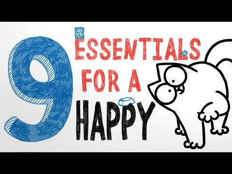 9 Essentials for a Happy Cat!  Simon's Cat | COLLECTION
