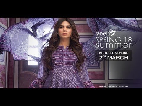 Zeen Lawn 2018 Summer Collection New Prints