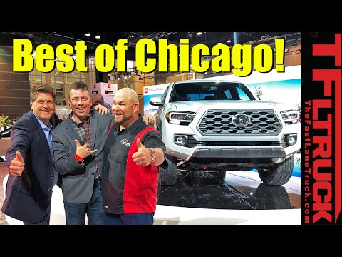 Toyota Tacoma, Sequoia TRD Pro and Ram Chassis Cab: Best Trucks of Chicago! | Talkin' Trucks #33