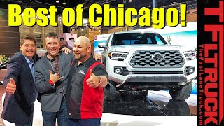 Toyota Tacoma, Sequoia TRD Pro and Ram Chassis Cab: Best Trucks of Chicago!   Talkin' Trucks #33