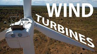 DJI Phantom 4 - Wind Farm TURBINES