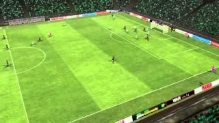 Betis mot Barcelona - Scoring av Neymar 74 minutter