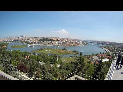 İSTANBUL/EYÜPSULTAN/PİERRE LOTİ TEPESİ/SJCAM SJ7 STAR AKSİYON KAMERA