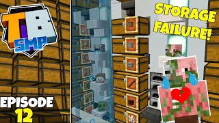 Truly Bedrock S2 Ep12! Auto Storage FAILURE! Bedrock Edition Survival Let's Play!