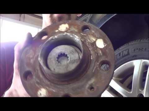 Jetta Rear Wheel Bearing stuck bolt 2005 - 2011