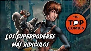 Los superpoderes mas ridículos