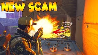 * ¡Nueva estafa de trampa de piso del portal*! Scammer consigue estafado en Fortnite Save The World