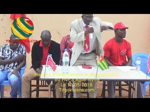Togo/ Interdiction, militarisation: Le PNP appelle à un grand soulèvement populaire