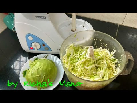 Cabbage shreding in food processor   food processor uses ...