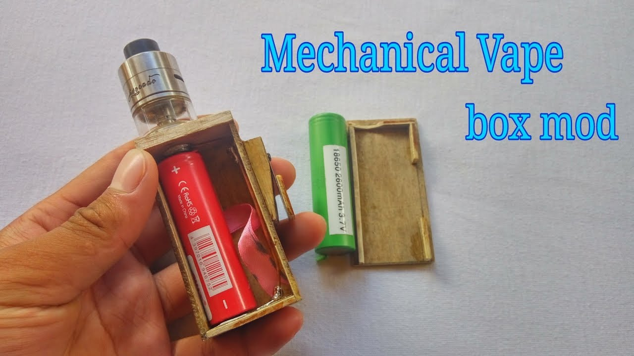 hight resolution of make mecanical vape box mod