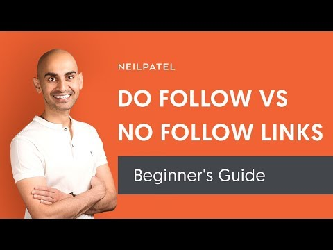 What's The Difference Between Do Follow and No Follow Links