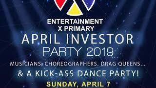 2019 April Investor Party Promo