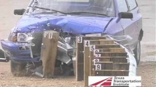 TTI Roadside Safety Crash Testing Program