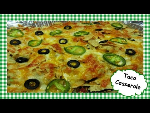 Easy Cheesy Taco Casserole Recipe