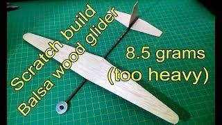 balsa glider plans free - Woodworking Challenge