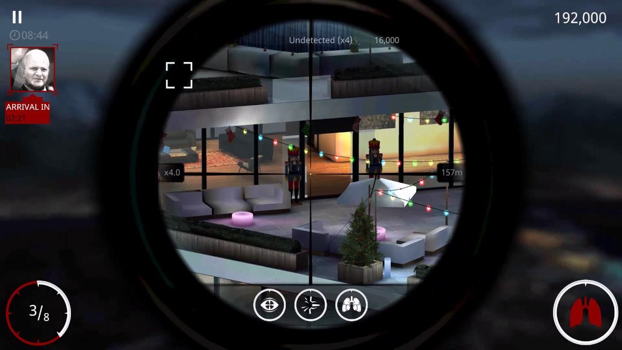 Hitman Sniper : Chapter 1 Mission 7 Shoot Fusebox and Kill Dimitri on