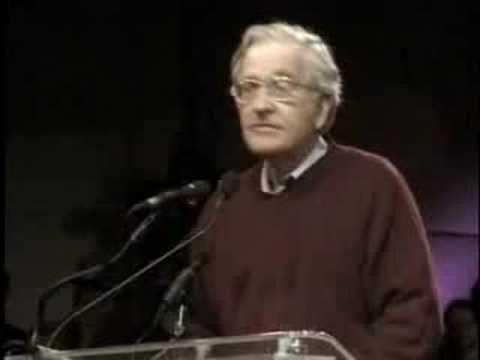 Noam Chomsky - 'preemptive war'